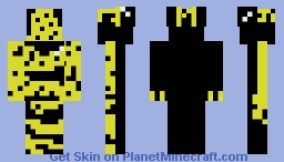 bumblebee dart frog Minecraft Skin