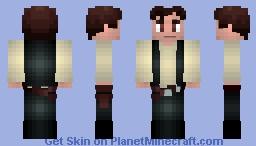 Han Solo Minecraft Skin
