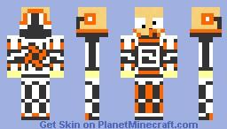 Derp in a power suit Minecraft Skin