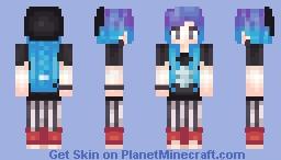 ~G∀L∀Xϒ~ Punk ~ My Personal Minecraft Skin