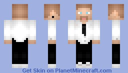 ★·.·´¯`·.·★ ηιкιтα ★·.·´¯`·.·★ - My bf in his work uniform :D Minecraft Skin