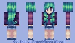 Lady in Chrome Minecraft Skin