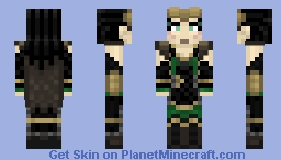 MARVEL - MCU Lady Loki Minecraft Skin