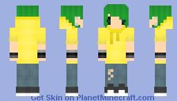 Spunky Lil' Sprite Minecraft Skin