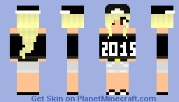 Happy New Year's!! 2014 >> 2015 Minecraft Skin