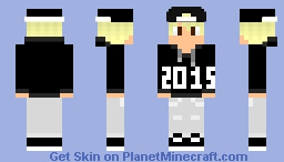 Happy New Years 2014 >> 2015 [Boy Version] Minecraft Skin
