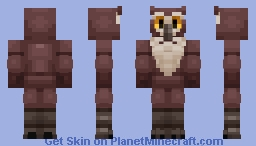 Bert the Owl {Legoskeleton's FnaF contest} Minecraft Skin
