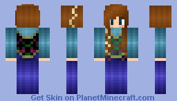 Anna from Frozen! Minecraft Skin