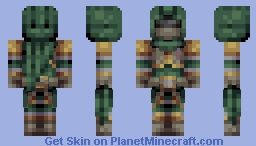 Royal Ranger Minecraft Skin