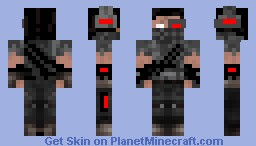 Herobrine Hunter Minecraft Skin - Skins fur minecraft herobrine