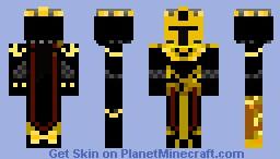 Sky Army Knight Minecraft Skin