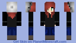 Run Away Minecraft Skin