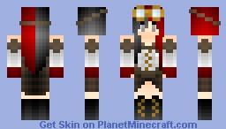 Steampunk Girl Minecraft Skin