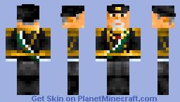 Naval Conflicts - Admiral Tōgō Minecraft Skin