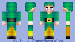 Buddy the Elf- What's your Favorite Color? Finalist- 91st! Minecraft Skin