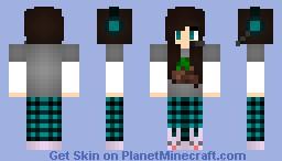 Gaming Girl (Brown Hair) Minecraft Skin