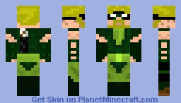 Green Arrow Minecraft Skin