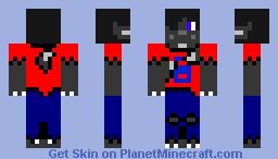 Werewolf guy Minecraft Skin