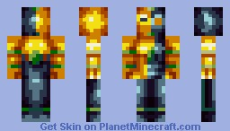 Sun & Moon (Something a little different) Minecraft Skin