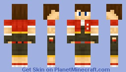Pokemon Ranger (Gotta catch them all!) [I'm bacck!] Minecraft Skin