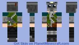 Metro 2033 Russian Stalker Minecraft Skin
