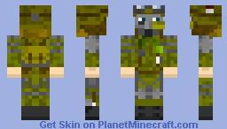Metro 2033 Stalker Minecraft Skin