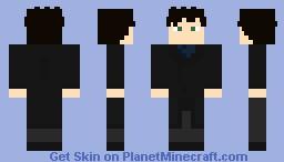 Sherlock - Benedict Cumberbatch (BBC) Minecraft Skin