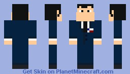 Stan Smith (American Dad!) Minecraft Skin