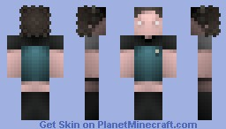 Deanna Troi, Skirt  Version, / ST TNG Minecraft Skin