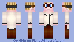 Bubbles (Trailer Park Boys) Minecraft Skin