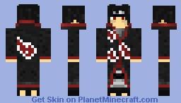 Itachi Uchiha (Akatsuki) Minecraft Skin