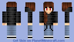 My First OC charater (50 sub special) Minecraft Skin