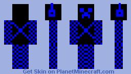 super creeper(with plasma chain armor) Minecraft Skin