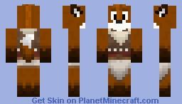 Merek the Fox Minecraft Skin