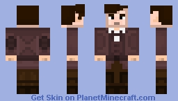 11th Doctor [Unique Twist] [Blocky] Minecraft Skin