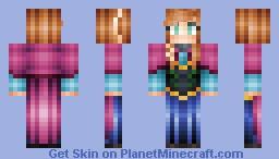 Anna [Frozen] Minecraft Skin