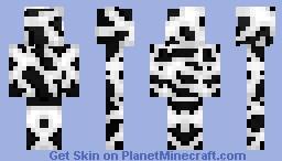 Black & White Abstraction Minecraft Skin