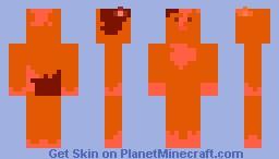 Burning Guinea Pig Minecraft Skin