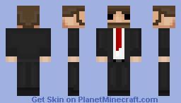 A guy in suit  [Random Skin] [Blocky] Minecraft Skin