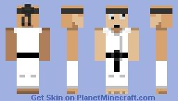 Derpy Karate master Minecraft Skin