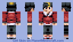 Pokemon Trainer Gold (Ethan) Minecraft Skin