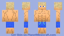 Male Surfer Skin By 00jace