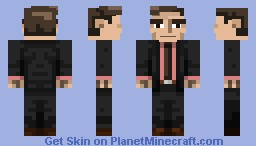 That business guy too busy for you because he is doing busy business stuff at his business he owns Minecraft Skin
