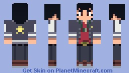 Space☆Dandy Minecraft Skin