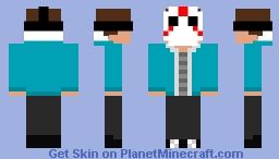 Skin Details  H20 Delirious Minecraft Skin