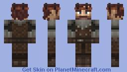 Robb Stark Minecraft Skin