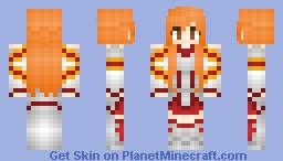 °lǝıɔ° - Asuna [Sword Art Online] Minecraft