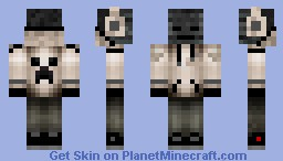 Wither Hoodie Minecraft Skin