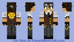 SS_Long-Bucket Captain Minecraft Skin