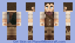Benjamin McKinley (Fallout: Ashes of our Fathers) Minecraft Skin